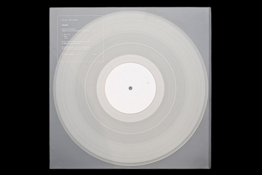 Alva Noto + Ryuichi Sakamoto - Revep EP