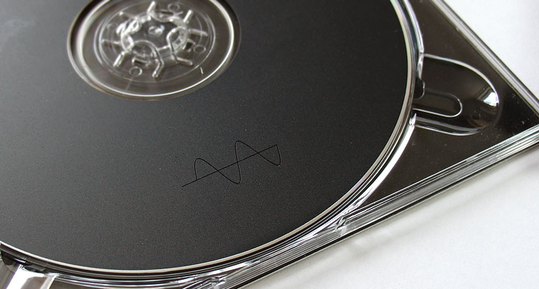 Deathprod CD closeup