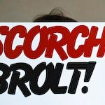 Scorch Trio record cover design