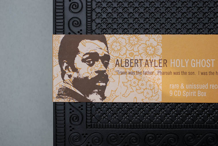 Albert Ayler CD box cover design