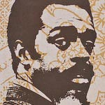 Albert Ayler Ghost Box CD box graphic design