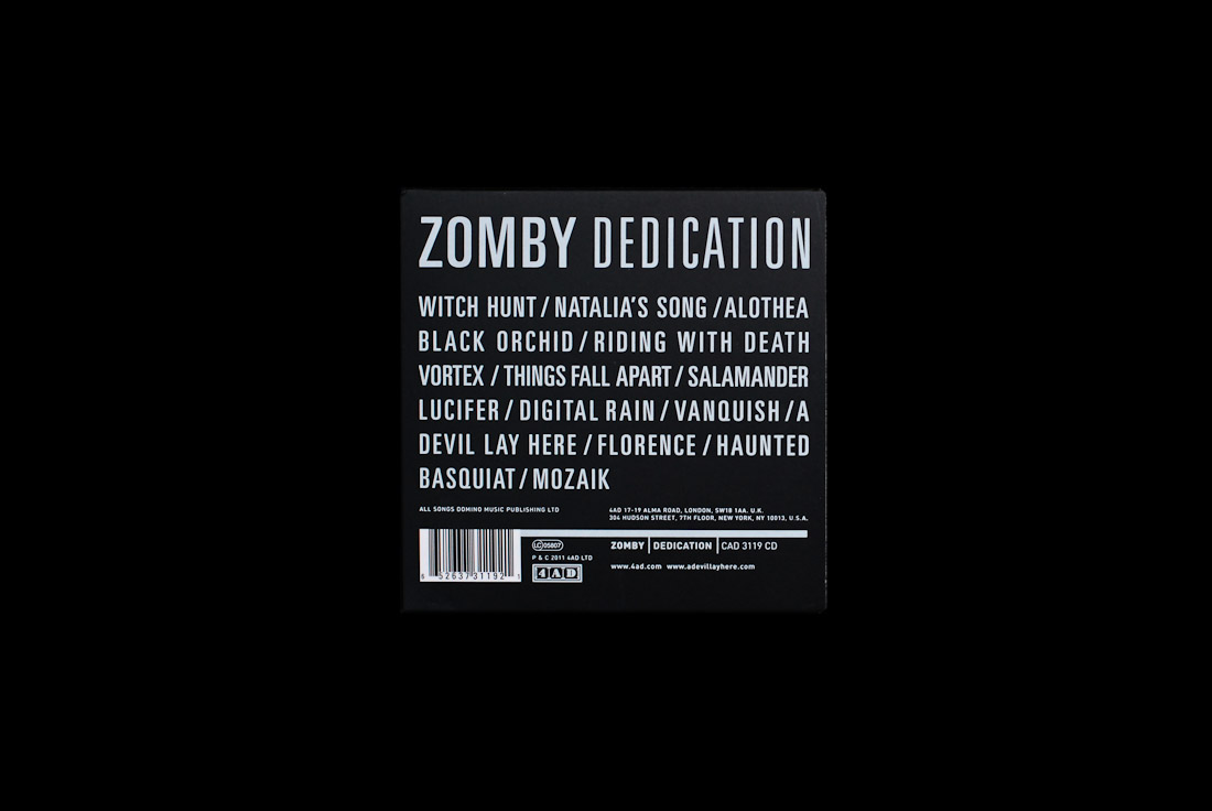 Zomby - Dedication, Nothing