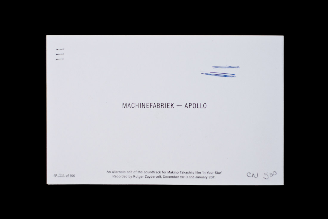 Machinefabriek - Apollo